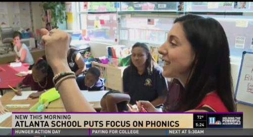 REAP featured in 11 Alive story about APS Burgess-Peterson Academy